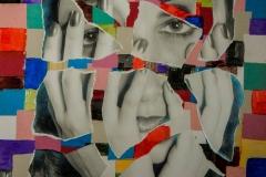 Fotografia sobre pintura. 2000.